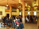 22.09.2013 - uczestnictwo we Mszy św. i koncert Artura Thomasa