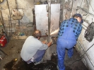 30.09. - 12.10.2013 - demontaż starego i montaż nowego CO na probostwie