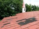 16.06.2016 - dach kościoła