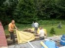 12-14.06.2017 - remont dachu kościola