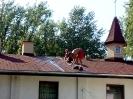 31.07-04.08.2017 - zakończenie remontu dachu kościoła