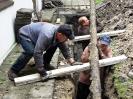 14-22.09.2011 - wymiana rur między komorami szamba